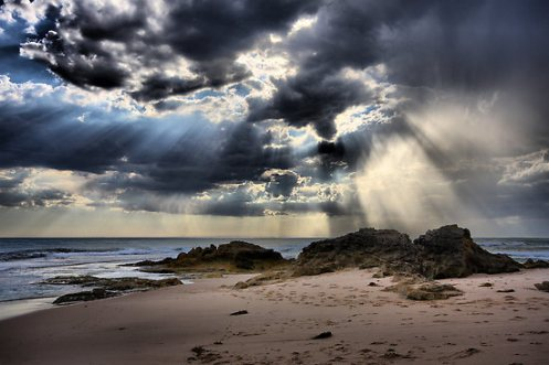 Tempest Over the Ocean - Blairgowrie - Jim Worrall - Mornington Peninsula - Australia