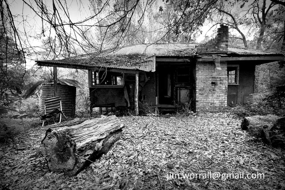 jim worrall, abandoned house