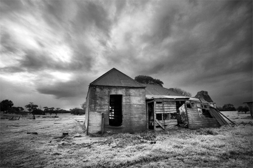abandoned house Puralka, Victoria, Australia - Jim Worrall