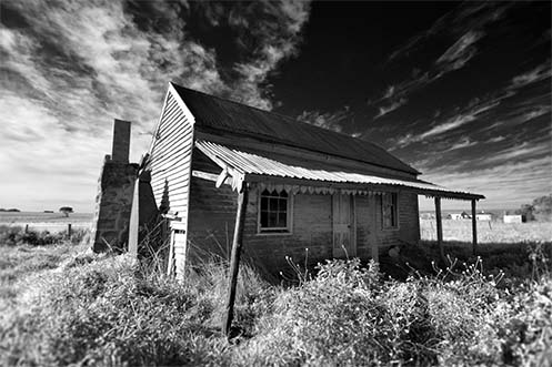 Love Shack abandoned house - Jim Worrall