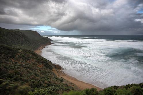 Glenaire seascape beach - Jim Worrall