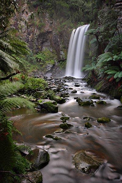 The Silky Lady - Hopetoun Falls - Jim Worrall