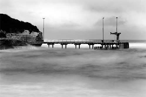 Port Campbell pier storm - Jim Worrall