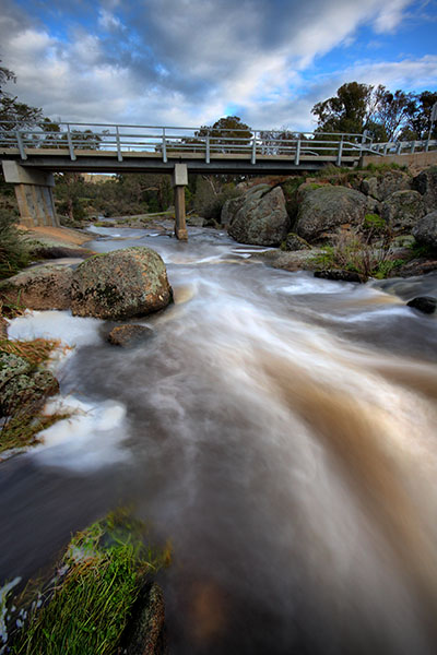 Polly McQuinn's Weir - the bridge - Strathbogie - Jim Worrall
