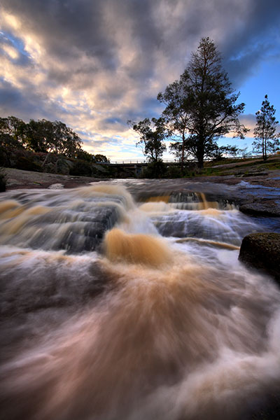 Polly McQuinn's Weir - Strathbogie - Jim Worrall - Polly's Overflow