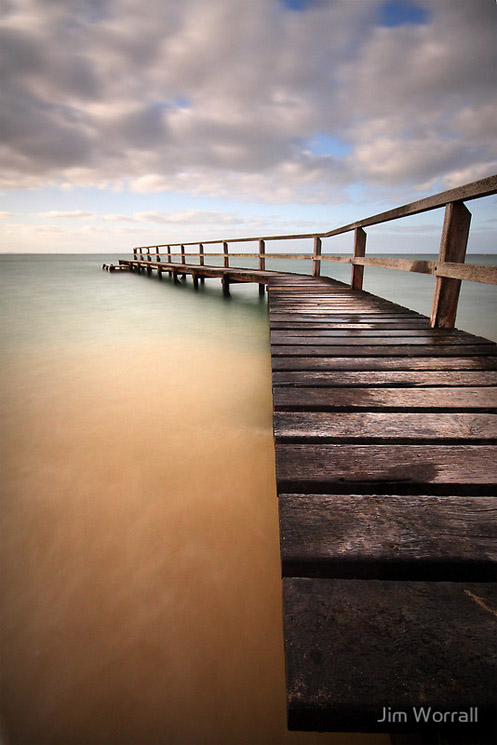 """Jim Worrall"" ""34 Steps"" Portsea ""Mornington Peninsula"" beach ""long exposure"""
