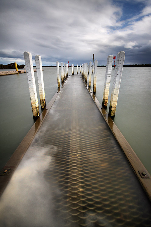 Tooradin jetty - Jim Worrall pier westernport bay