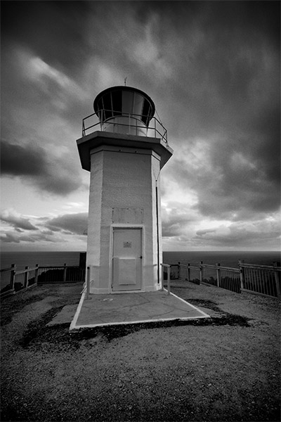 Warrior of the Dark - Cape Liptrap lighthouse - Jim Worrall