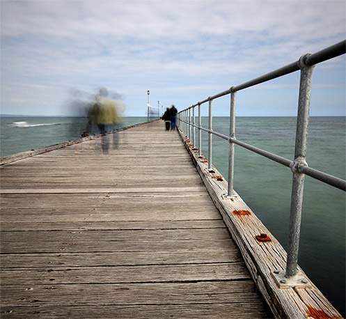 Pier Group Pressure - Mordialloc pier - Jim Worrall