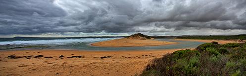 Powlett River - Pano 3 - Jim Worrall - Australia