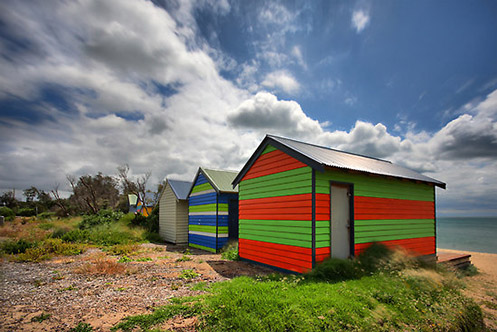 Lolly Boxes 2 - Jim Worrall - Safety Beach - Mornington Peninsula - Australia