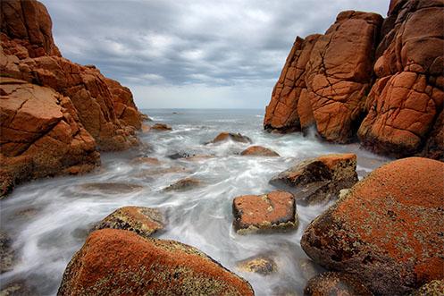 Waiting for the Swirl of White - Jim Worrall - Pinnacles - Phillip Island