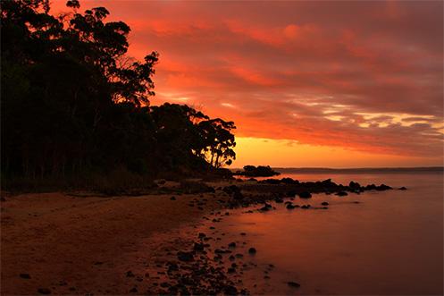 Sunset at Tenby Point - Jim Worrall - Australia - seascape