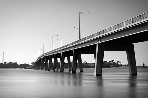 San Remo Bridge - Jim Worrall - Phillip Island gateway
