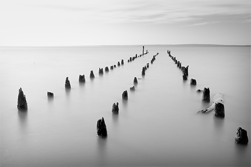 Runway to the Afterlife - Jim Worrall - Grantville - jetty pylons