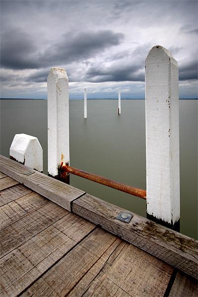 Grantville Jetty - Jim Worrall - Westernport Bay - pier