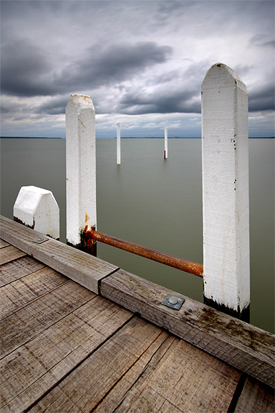 Grantville Jetty - Jim Worrall - Westernport Bay - pier