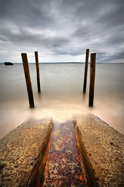 Running from the Idols - Jim Worrall -  Grantville - Westernport Bay - beach - long exposure - HDR