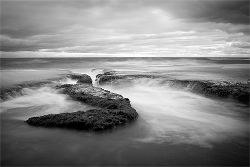 The Call of White Water - Jim Worrall - Sorrento back beach - Australia
