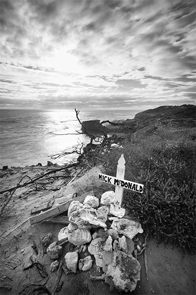Memorial - Jubilee Point Sorrento - Jim Worrall