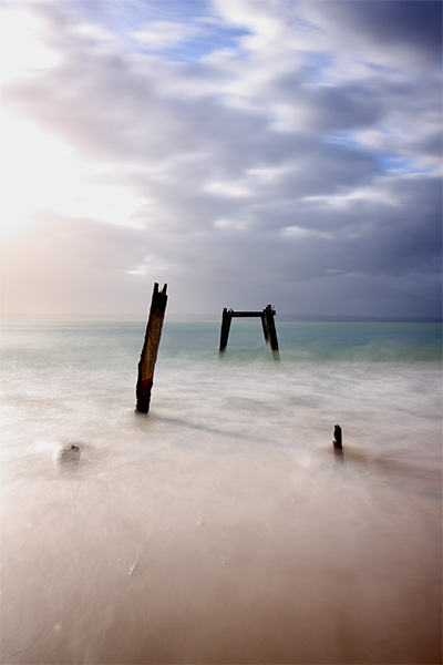 Drawn to the Ocean - Jim Worrall - Right Point - Phillip Island - jetty