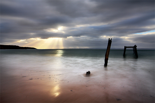 Running to the Light - Jim Worrall - Right Point - Phillip Island - jetty