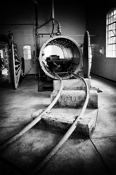 Point Nepean - Portsea - quarrantine - fumigation chamber - Jim Worrall