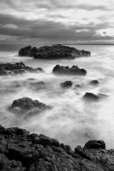 Through the Vapour - Jim Worrall - Cowrie Beach - Phillip Island