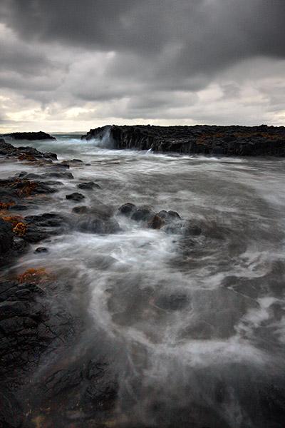 Awaiting the Devil - Jim Worrall - Cowrie Beach - Phillip Island
