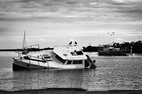Downtime - Warneet - boat - Jim Worrall - Australia - travel
