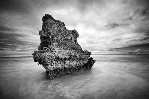 The Shark's Fin - Rye beach - Jim Worrall - Mornington Peninsula - Australia - ND400