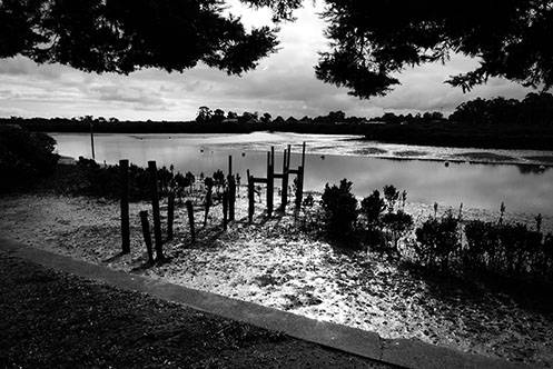 Tooradin - jetty remnants - Jim Worrall - Australia