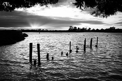 Tooradin - old jetty remnants - Jim Worrall - Australia