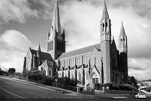 Sacred Heart Cathedral - Bendigo - Jim Worrall - church - Australia