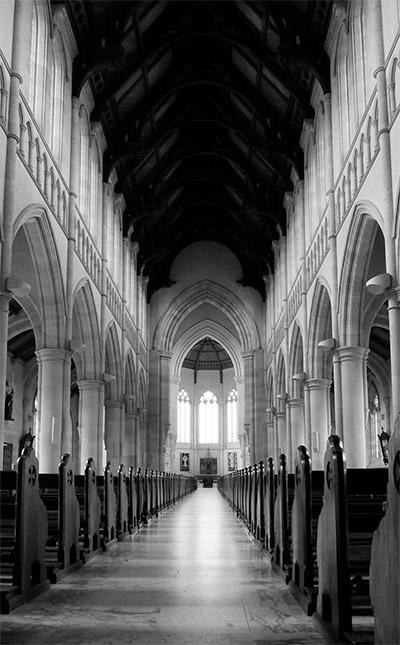 Sacred Heart Cathedral - Bendigo - Jim Worrall - church - Australia