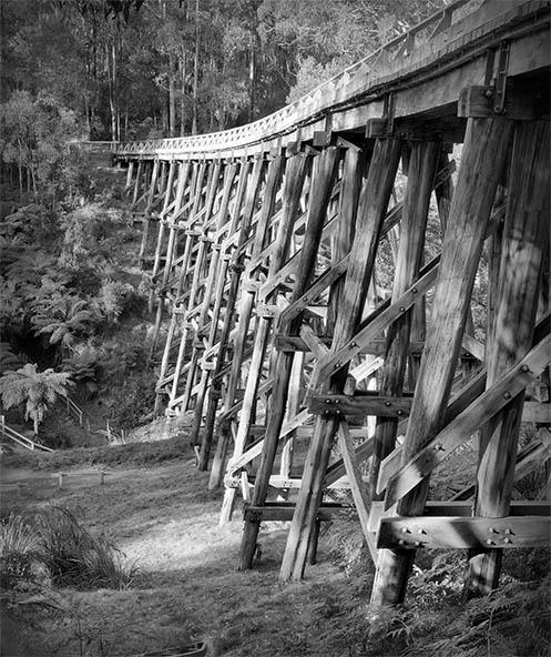 Noojee Trestle Bridge - Jim Worrall