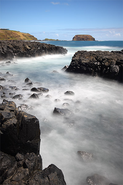 Right Point, Phillip Island - Jim Worrall - Australia -seascape - beach - ND400 - long exposure