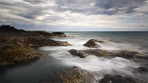 Flinders beach - Blowhole Track - Mornington Peninsula - Jim Worrall - long exposure