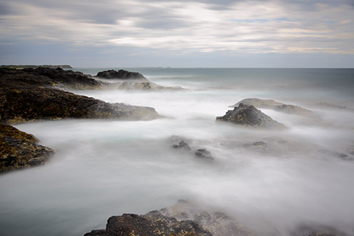 Flinders beach - Blowhole Track - Jim Worrall - long exposure - ND400