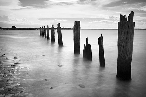 Queensferry - Western Port Bay - high tide - Jim Worrall - ND400