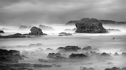 Winter in Mossy Point - Jim Worrall - Australia - seascape - ocean - beach