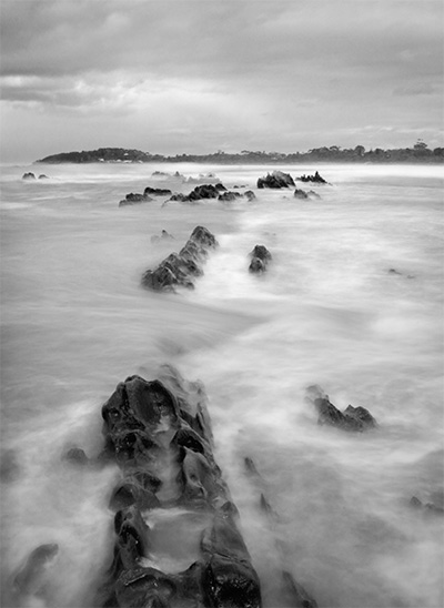 Mossy Point - Broulee - Jim Worrall - Australia - ocean - mist - seascape