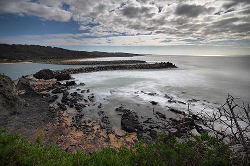 Wagonga Inlet - Narooma - Jim Worrall - seascape - beach - ocean - Australia