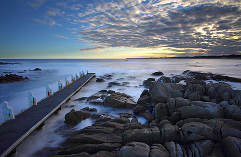 Cape Conran Jetty - Jim Worrall - seascape - long exposure - ND400 - misty - sea - ocean