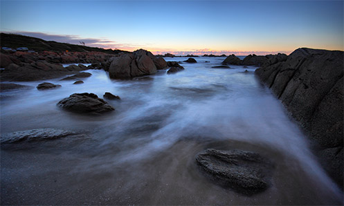 Mists of Cape Conran - Jim Worrall - seascape - ocean - beach - long exposure