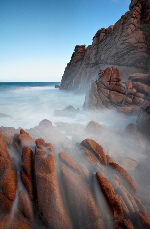 Mist in the Pinnacles - Jim Worrall - Phillip Island - Australia - long exposure - ND400