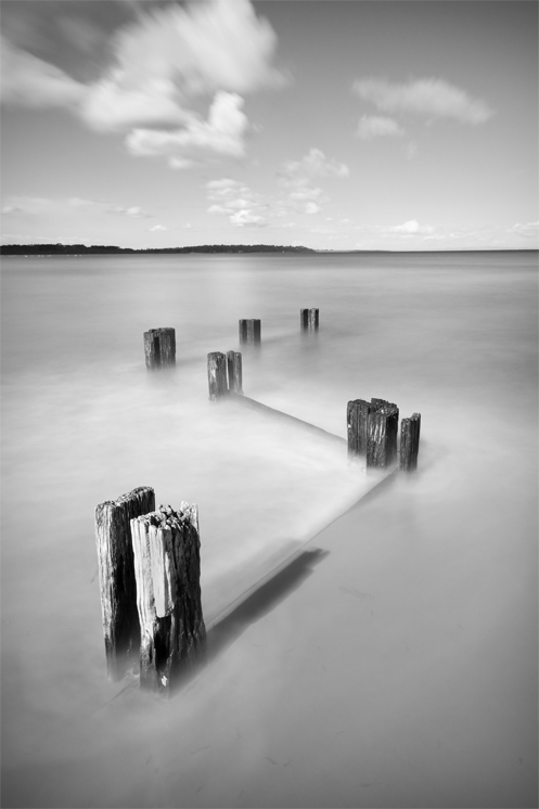 Balnarring Beach - Jim Worrall - Western Port Bay - Australia - long exposure - ND400
