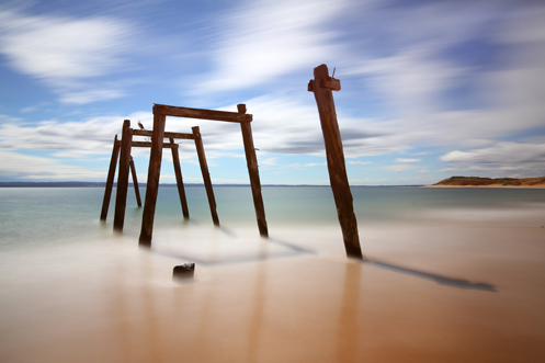 Cat Bay jetty - Phillip Island - Jim Worrall - nd400 long exposure