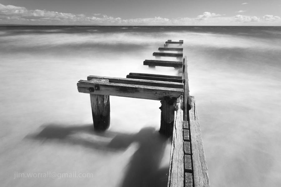 Mentone Groyne - Jim Worrall - Port Phillip Bay - Australia