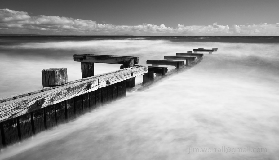 Mentone Groyne - Jim Worrall - Port Phillip Bay - beach - Australia